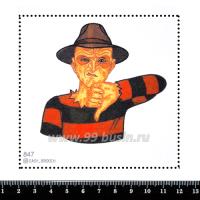 Шаблон для броши Фредди 847, фетр Корея Премиум, толщина 1,25 мм, размер 10*10 см 063269 - 99 бусин