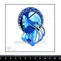 Шаблон для броши Плавалагуна 629, фетр Корея Премиум, толщина 1,25 мм, размер 10*10 см 063274 - 99 бусин