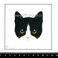 Шаблон для броши Мордочка котика 046, фетр Корея Премиум, толщина 1,25 мм, размер 10*10 см 063403 - 99 бусин