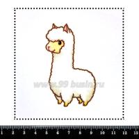 Шаблон для броши Альпака 327, фетр Корея Премиум, толщина 1,25 мм, размер 10*10 см 063433 - 99 бусин