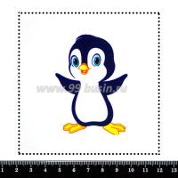 Шаблон для броши Пингвинчик, фетр Корея Премиум, толщина 1,25 мм, размер 10*10 см 063463 - 99 бусин