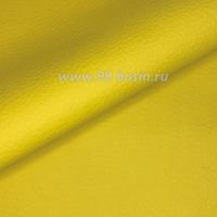 Экокожа, цвет солнечный жёлтый, размер 20*14 см, толщина 1 мм, фактурность средняя, 1 лист 063545 - 99 бусин