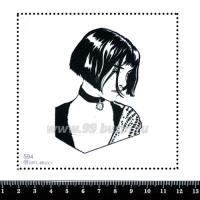 Шаблон для броши Матильда, фетр Корея Премиум, толщина 1,25 мм, размер 10*10 см 063596 - 99 бусин