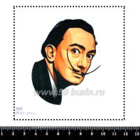 Шаблон для броши Сальвадор Дали, фетр Корея Премиум, толщина 1,25 мм, размер 10*10 см 063598 - 99 бусин