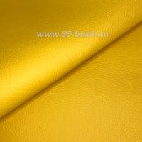 Экокожа, цвет куркума/матовый, размер 20*14 см, толщина 1 мм, фактурность мелкая, 1 лист 063620 - 99 бусин