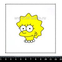Шаблон для броши Лиза 376, фетр Корея Премиум, толщина 1,25 мм, размер 10*10 см 063656 - 99 бусин
