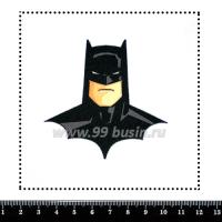 Шаблон для броши Бэтмэн 306, фетр Корея Премиум, толщина 1,25 мм, размер 10*10 см 063662 - 99 бусин