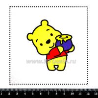 Шаблон для броши Винни, фетр Корея Премиум, толщина 1,25 мм, размер 10*10 см 063684 - 99 бусин