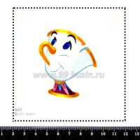 Шаблон для броши Чип 848 фетр Корея Премиум, толщина 1,25 мм, размер 10*10 см 063706 - 99 бусин