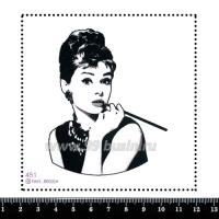 Шаблон для броши Одри 451 фетр Корея Премиум, толщина 1,25 мм, размер 10*10 см 063728 - 99 бусин
