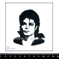 Шаблон для броши Майкл 503 фетр Корея Премиум, толщина 1,25 мм, размер 10*10 см 063735 - 99 бусин