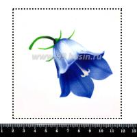 Шаблон для броши Колокольчик, фетр Корея Премиум, толщина 1,25 мм, размер 10*10 см 063941 - 99 бусин
