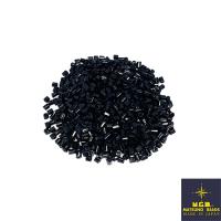 Рубка Matsuno Hexagon 2.1 мм цвет 748 чёрный матовый Япония 10 грамм 064072 - 99 бусин