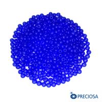 Бисер Чехия синий алебастр, размер 8, артикул 32010, 10 грамм 064247 - 99 бусин