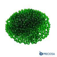 50120 прозрачный, размер 08, темно-зеленые тона 10 гр 064253 - 99 бусин