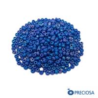 Бисер Чехия непрозрачный жемчужный блеск, размер 08, арт. 34210 сине-голубые тона, 10 грамм 064264 - 99 бусин