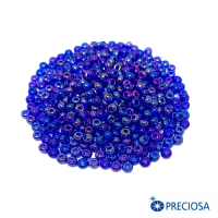 Бисер Чехия цвет индиго радужный, арт. 61300, 08 размер, 10 грамм 064265 - 99 бусин