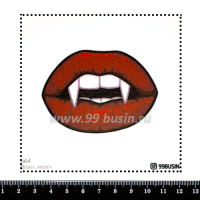 Шаблон для броши Вампирские губки, фетр Корея Премиум, толщина 1,25 мм, размер 10*10 см 064331 - 99 бусин