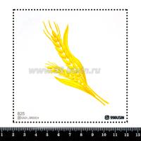 Шаблон для броши Колосья, фетр Корея Премиум, толщина 1,25 мм, размер 10*10 см 064363 - 99 бусин