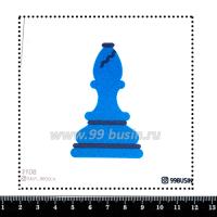 Шаблон для броши Пешка 1108, фетр Корея Премиум, толщина 1,25 мм, размер 10*10 см 064479 - 99 бусин