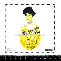 Шаблон для броши Адели Блох-Бауэр 1118, фетр Корея Премиум, толщина 1,25 мм, размер 10*10 см 064501 - 99 бусин
