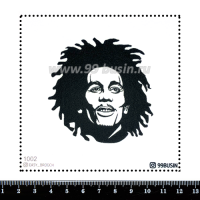 Шаблон для броши Боб 1002 фетр Корея Премиум, толщина 1,25 мм, размер 10*10 см 064560 - 99 бусин