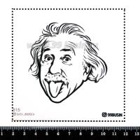 Шаблон для броши Энштейн 515 фетр Корея Премиум, толщина 1,25 мм, размер 10*10 см 064613 - 99 бусин