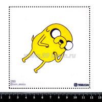 Шаблон для броши Джейк 289 фетр Корея Премиум, толщина 1,25 мм, размер 10*10 см 064672 - 99 бусин