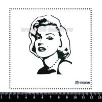 Шаблон для броши Мэрлин 481 фетр Корея Премиум, толщина 1,25 мм, размер 10*10 см 064683 - 99 бусин