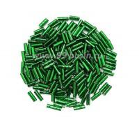 Стеклярус PRECIOSA 7 мм гладкий, цвет 57060 зеленый огонёк, упак. 10 грамм 07S57060 - 99 бусин