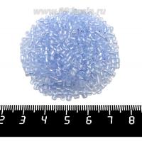Рубка Чехия PRECIOSA граненая, размер 2*2,1 мм, прозрачная хрустальная нежно-голубое отверстие, арт. 38236, 10 грамм 09R38236 - 99 бусин