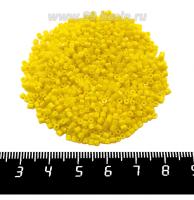 Рубка PRECIOSA граненая, размер 2 мм, непрозрачные жёлтые тона, арт. 83110, 10 грамм, Чехия 09R83110 - 99 бусин
