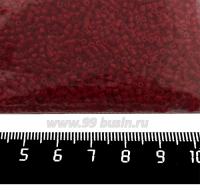 Рубка Чехия PRECIOSA размер 1,8*1,8 мм, непрозрачные красные тона, арт. 93210, УПАКОВКА 50 грамм 09R93210B - 99 бусин