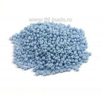 Бисер Чехия натуральный непрозрачный, размер 10, арт. 03132, голубые тона, 10 гр 10b03132 - 99 бусин