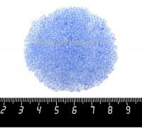 Бисер Чехия PRECIOSA прозрачный, размер 10, арт. 10043 синие тона, 10 граммов 10b10043 - 99 бусин