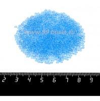 Бисер Чехия прозрачный, размер 10, арт. 60000  голубые тона, 10 граммов 10b60000 - 99 бусин