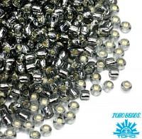 Бисер TOHO №11 цвет 0029 серый внутреннее серебрение ЯПОНИЯ пакет 10 граммов t110029 - 99 бусин