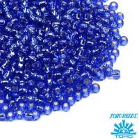 Бисер TOHO №11 цвет 0035 васильковый ЯПОНИЯ пакет 10 граммов t110035 - 99 бусин
