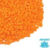 Бисер TOHO №11 цвет 042D неоновый оранжевый непрозрачный ЯПОНИЯ пакет 10 граммов t11042D - 99 бусин