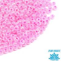Бисер TOHO №11 цвет 0909 розовый перламутр ЯПОНИЯ пакет 10 граммов t110909 - 99 бусин