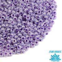 Бисер TOHO №11 цвет 0922 светлый фиолетовый перламутр ЯПОНИЯ пакет 10 граммов t110922 - 99 бусин