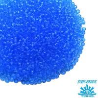 Бисер TOHO №15 цвет 0003B прозрачный голубой ЯПОНИЯ пакет 5 граммов t150003B - 99 бусин