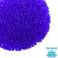 Бисер TOHO №15 цвет 08 прозрачный индиго ЯПОНИЯ пакет 5 граммов t150008 - 99 бусин