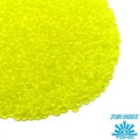 Бисер TOHO №15 цвет 12 прозрачный лимонный ЯПОНИЯ пакет 5 граммов t150012 - 99 бусин