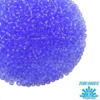 Бисер TOHO №15 цвет 08 прозрачный бледно-синий ЯПОНИЯ пакет 5 граммов t150013 - 99 бусин