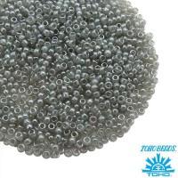 Бисер TOHO №15 цвет 150 серый перламутровый ЯПОНИЯ пакет 5 граммов t150150 - 99 бусин