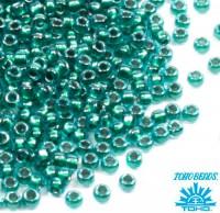 Бисер TOHO №15 цвет 0377 светлый сапфир ЯПОНИЯ пакет 5 граммов t150377 - 99 бусин